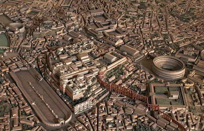 Древний Рим - реконструкция