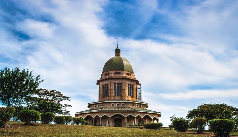 Храм в Уганде