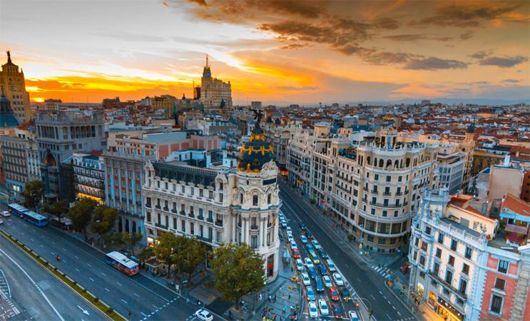 Город Мадрид