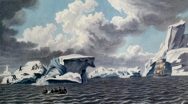 Корабли у Антарктиды