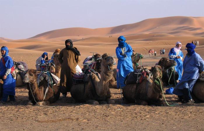 Кочевники в пустыне