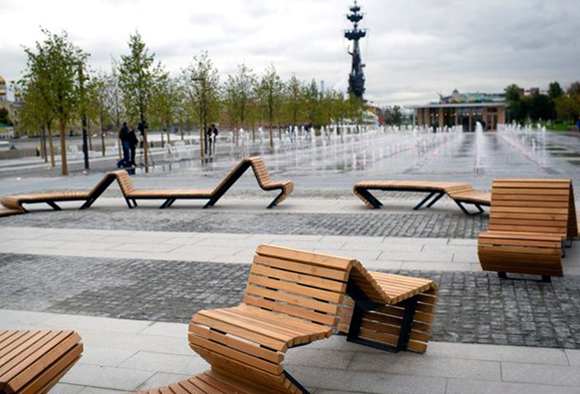 Необычные скамейки