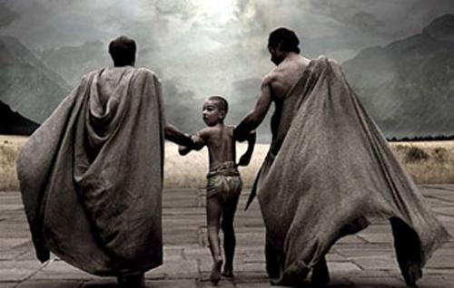 Спартанский мальчик