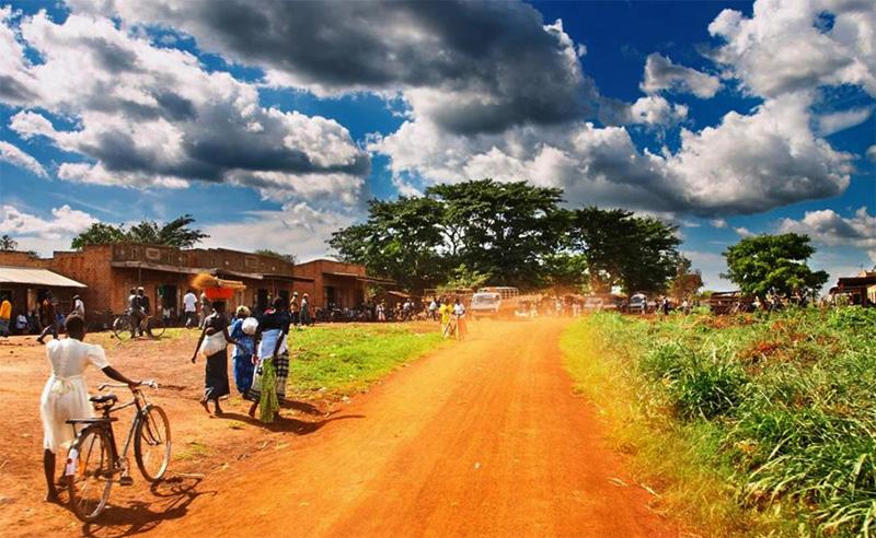 Деревня Уганды