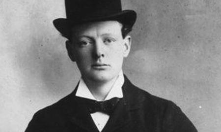 Молодой Черчиль
