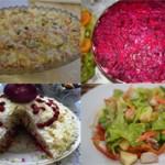 Топ 10 самых вкусных и популярных салатов: фото и описание