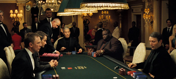 Casino royal filmi nerede cekildi