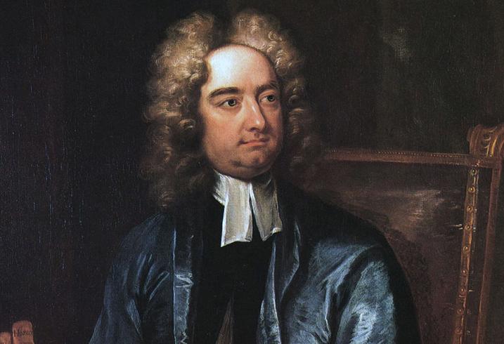 Писатель Джонатан Свифт