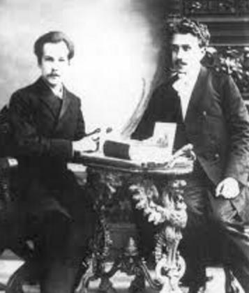 Белый и Соловьев