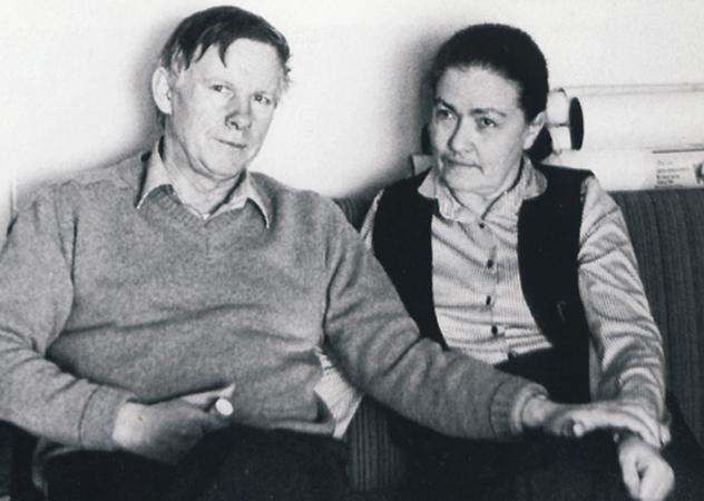 Быков с женой