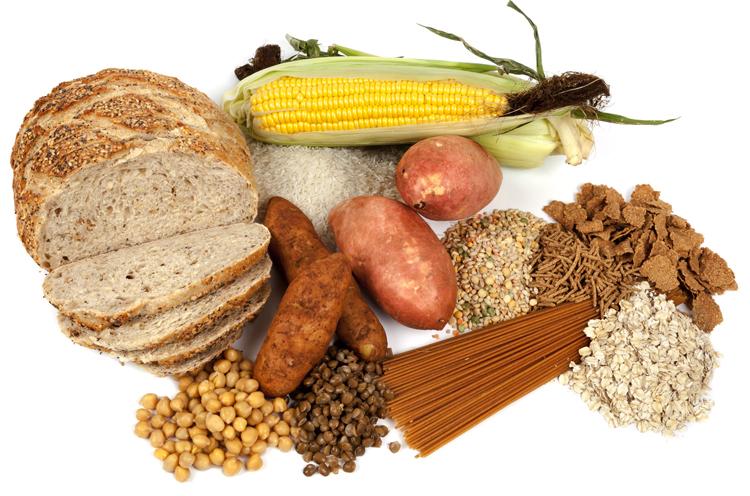 Продукты с углеводами