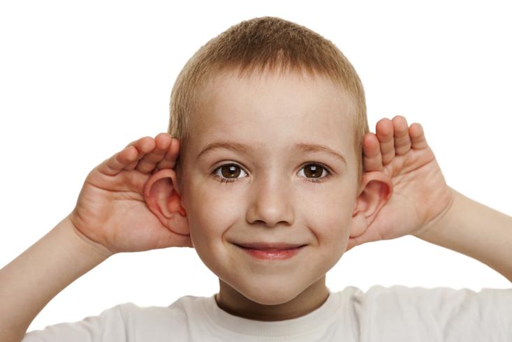 Уши ребенка