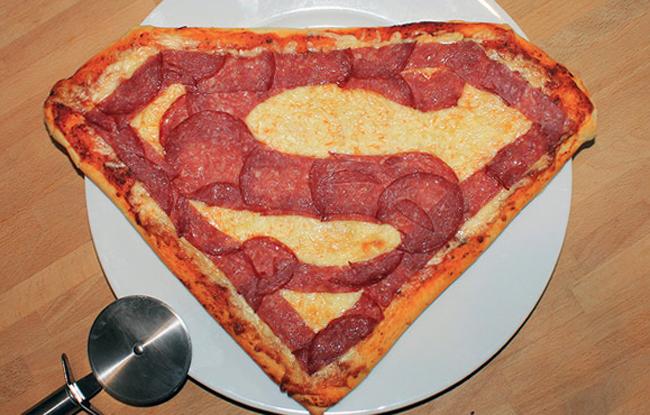 Пицца необычной формы
