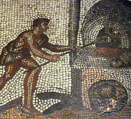 Пицца в древности