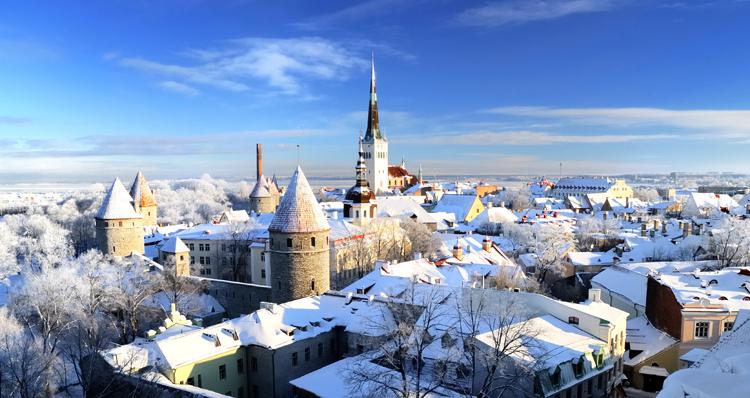 Эстония зимой
