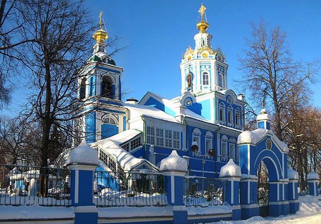 Храм Архангела Михаила в Балашихе