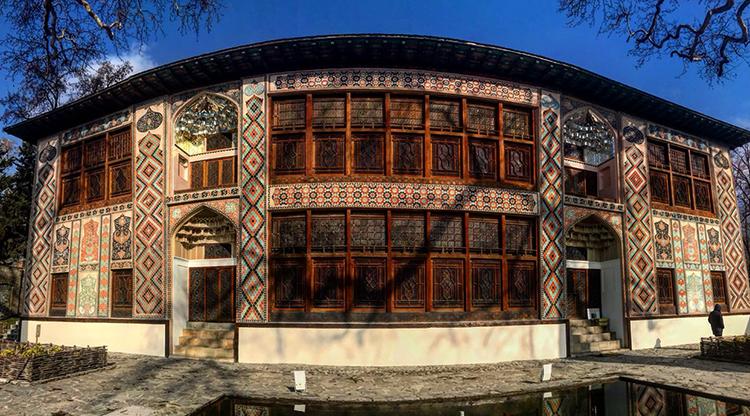Дворец шекинских шахов