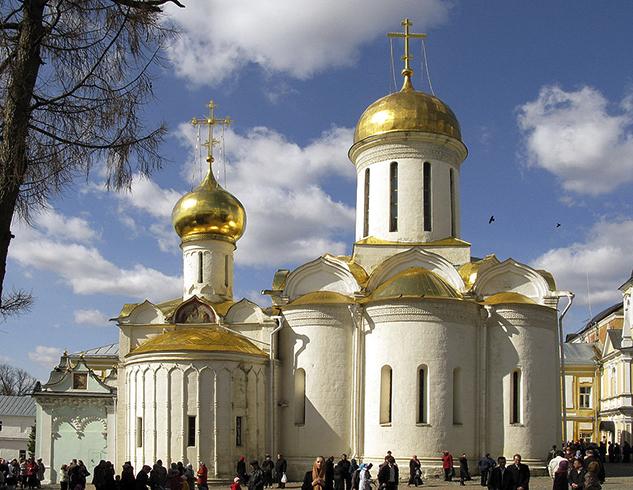 Свято-Троицкий собор Сергиево-Троицкой лавры, г. Сергиев-Посад