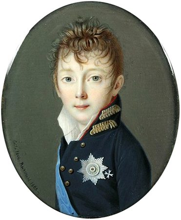 Николай 1 в детские годы