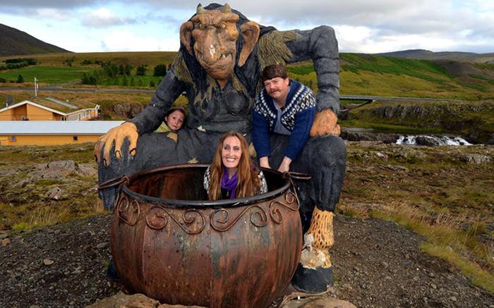 Тролль в Исландии