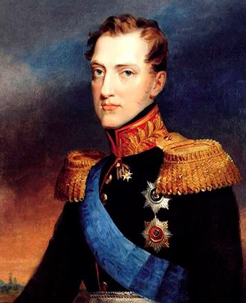 Юный Николай 1