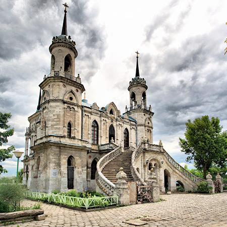Церковь Владимирской иконы Божией Матери, с. Быково