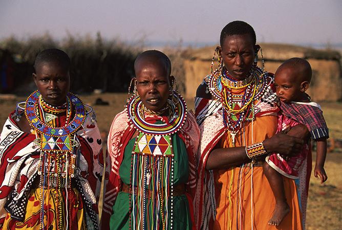 Люди в Африке