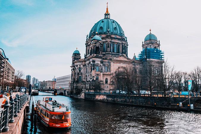 Канал в Берлине
