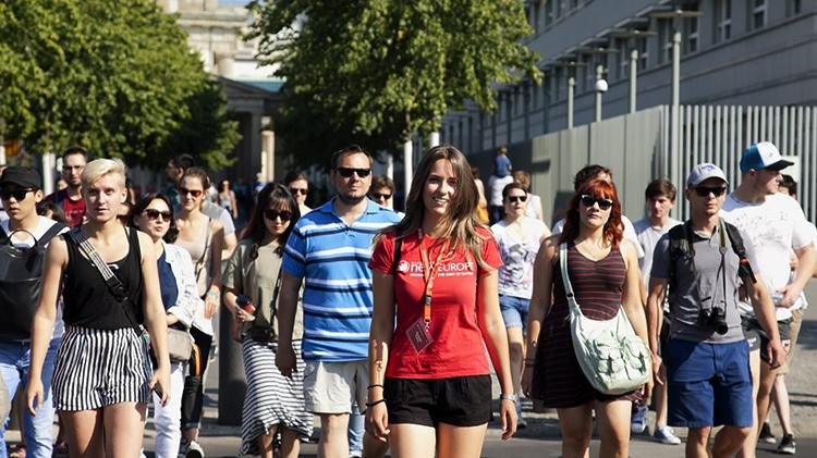 Люди в Берлине