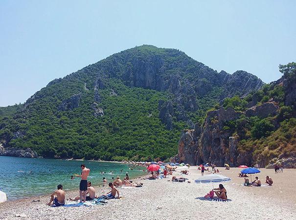 Пляж Чирали (Кемер)