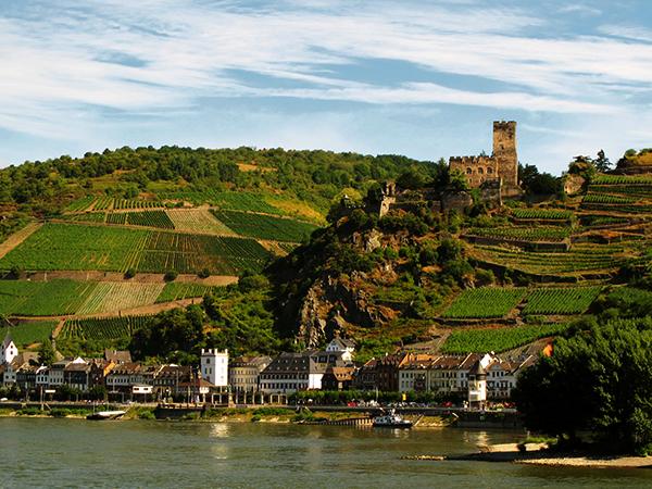 Романтическая долина Рейна