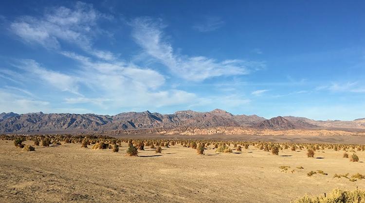 Долина смерти, штат Калифорния