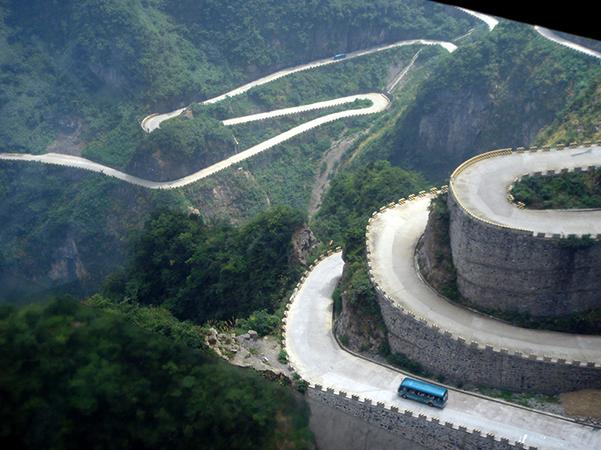 Дорога в небеса, Китай