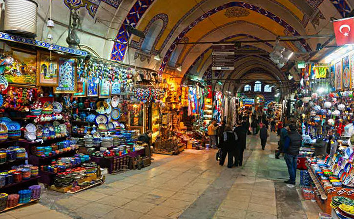 Большой базар в Стамбуле