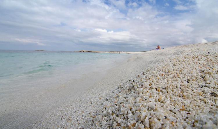 Рисовый пляж Ис Арутас (Is Arutas)
