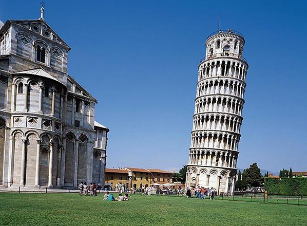 Как выглядит Пизанская башня