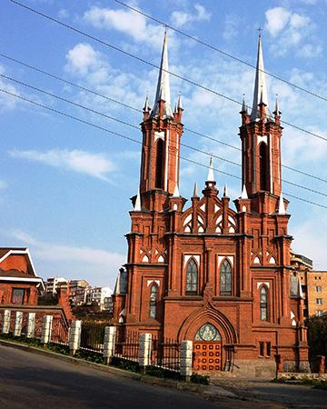 Католический храм Пресвятой Богородицы