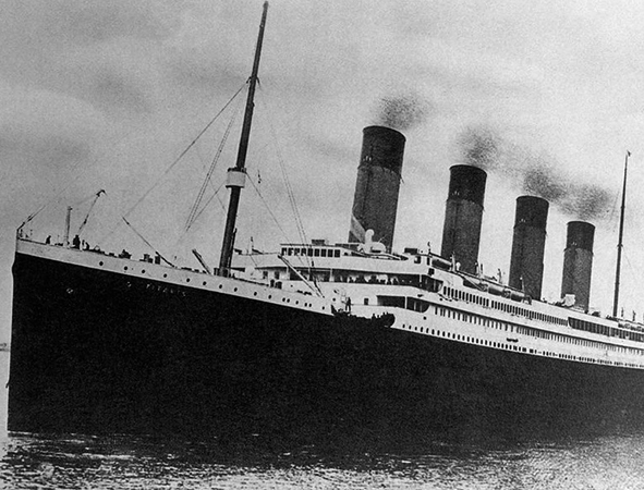 Корабль Титаник