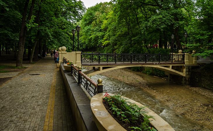 Курортный парк в Кисловодске