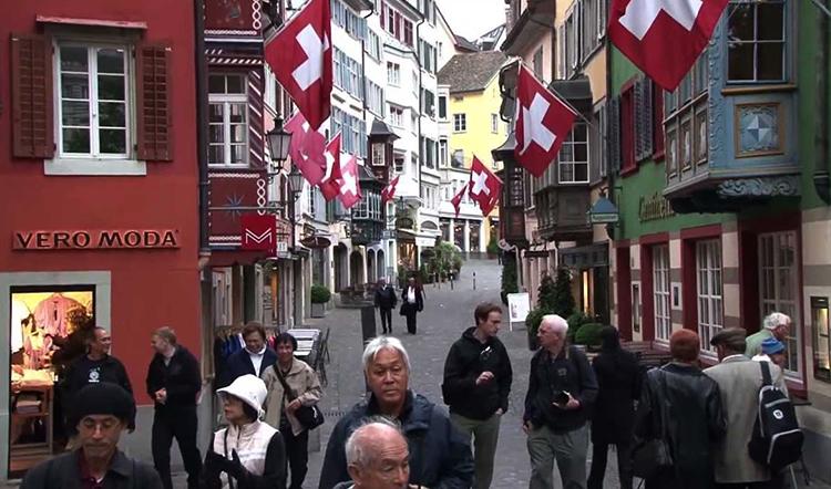 Люди в Швейцарии