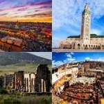Красивые места Марокко