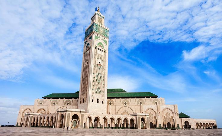 Мечеть короля Марокко Хасана II