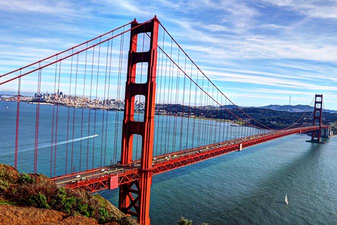 "Мост ""Золотые ворота"", г. Сан-Франциско"