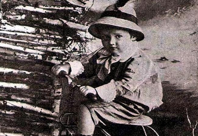 Николай Носов в детстве