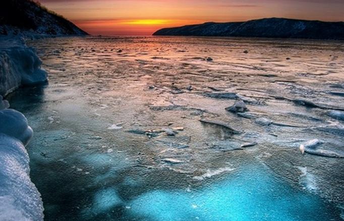Холодное охотское море
