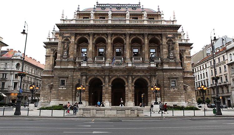 Венгерский оперный театр, г. Будапешт