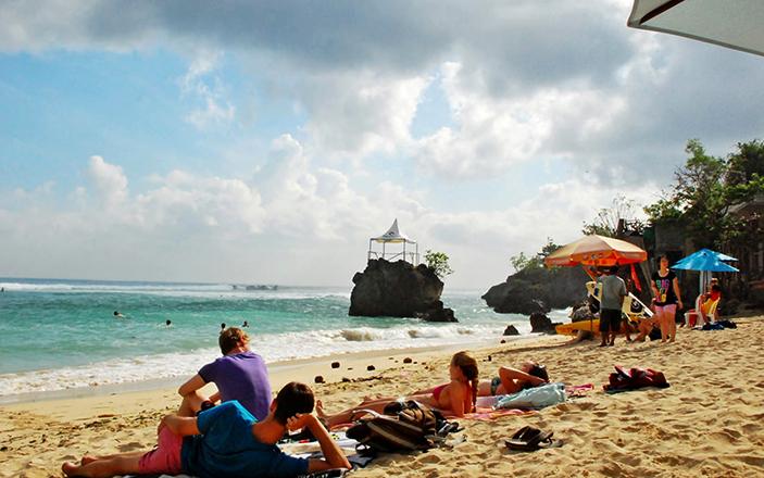Пляж Padang Padang