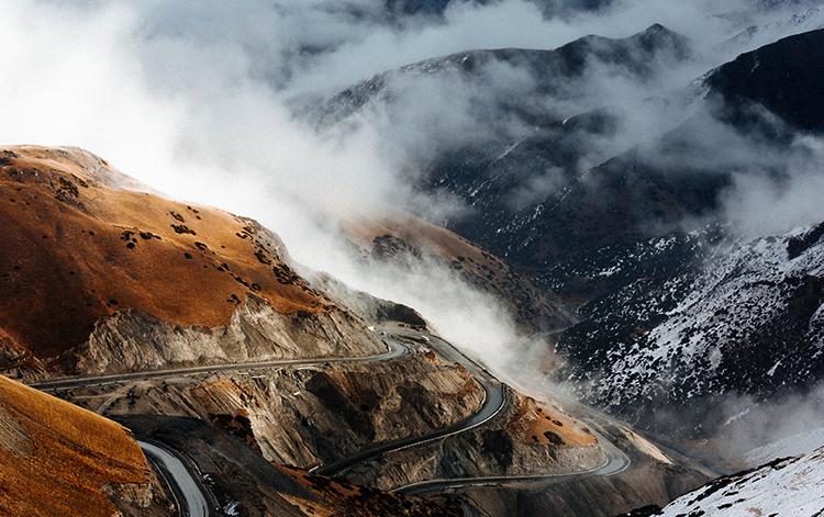 Памирский тракт, Киргизия, Таджикистан