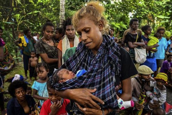 Люди из Папуа-Новой Гвинеи