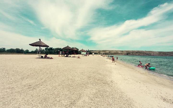 м.Казантип: пляж «Татарка»